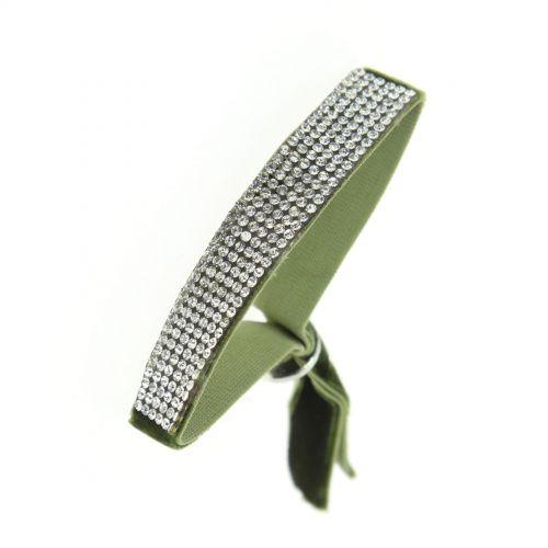 Bracelet strass élastique, 6676