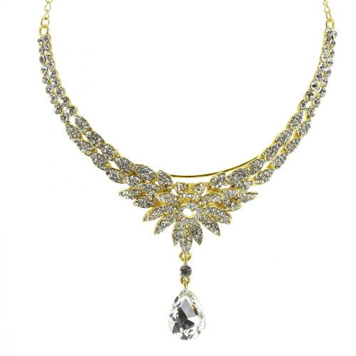 Serre-tête couronne FLAMINE Doré (Blanc) - 9936-32442