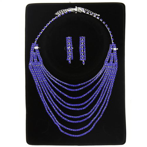 Parrure Necklace and Earrings Tonie