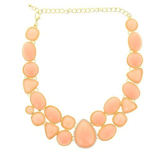 collana di strass in oro Naouele