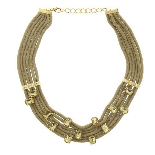 corde collana di strass Chahrazad