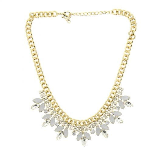 Collier cordons similicuir