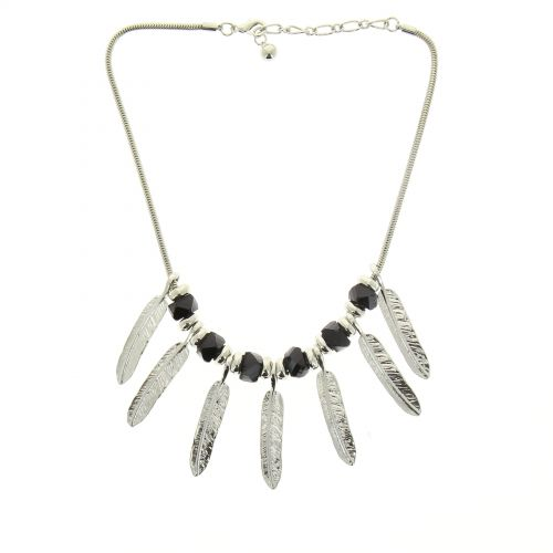 Feathers necklace SHAMSY