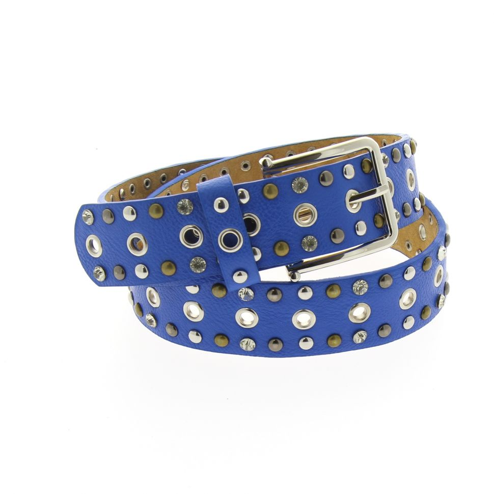 Studded and rhinestones crystal belt KATARZYNA