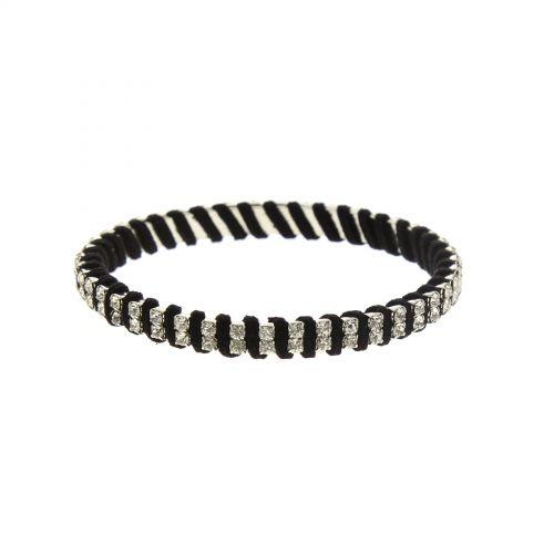 Bracelet bangle à strass