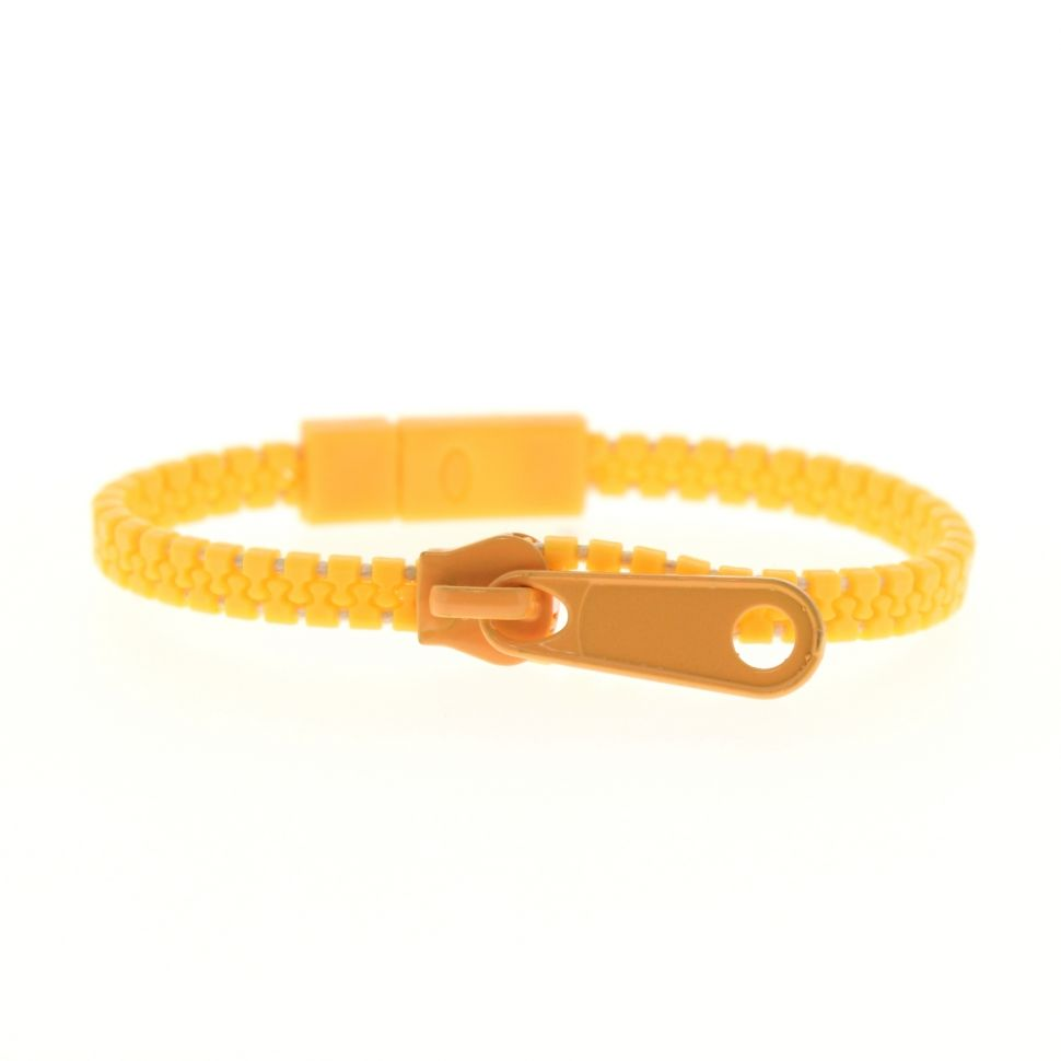Bracelet fantaisie en ZIP Orange - 4828-33387