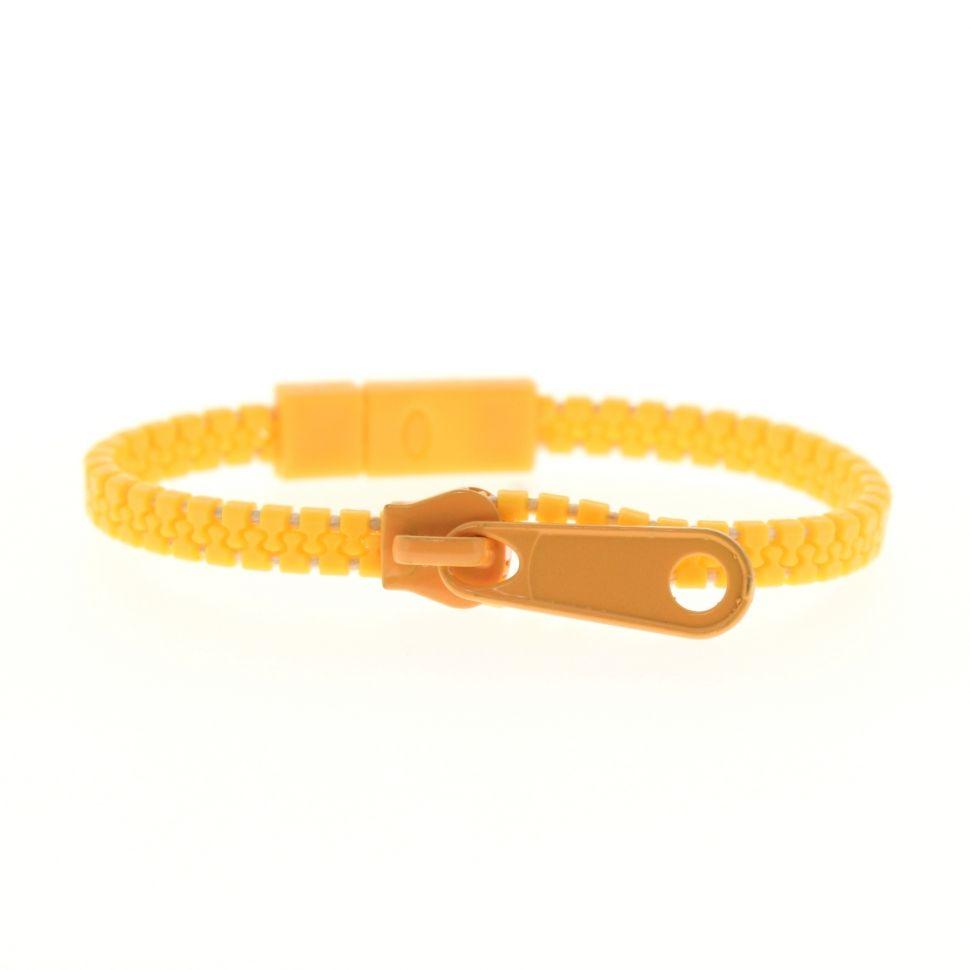 Bracelet fantaisie en ZIP Orange - 4828-33387
