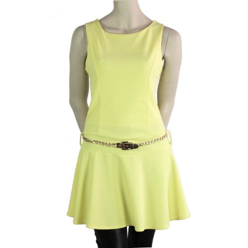 Robe ALICIA Jaune - 9997-33478