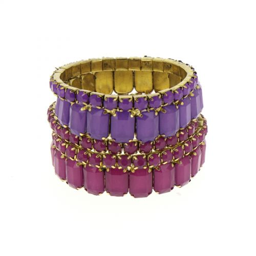 Bracelets 5 bangle extensible