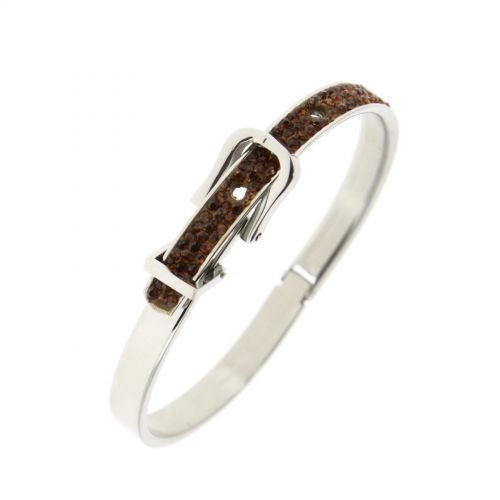 BH52-1 stainless steel bracelet Brown