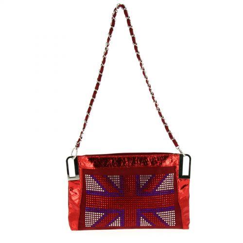 Pouch Bag English Flag ANAIS