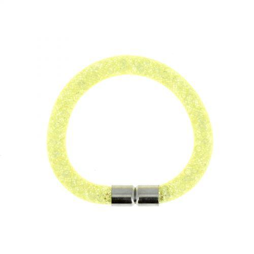 cristallo braccialetto d'argento Razane 9445