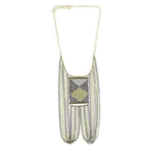 Bronze necklace PERINNE
