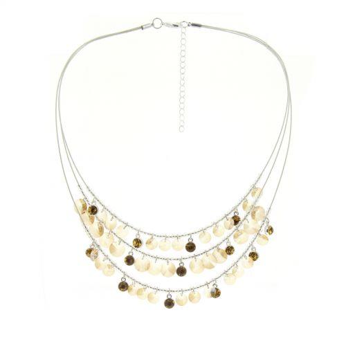 LEINA Rhinestone necklace