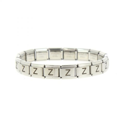 5369 stainless steel bracelet laser engraved