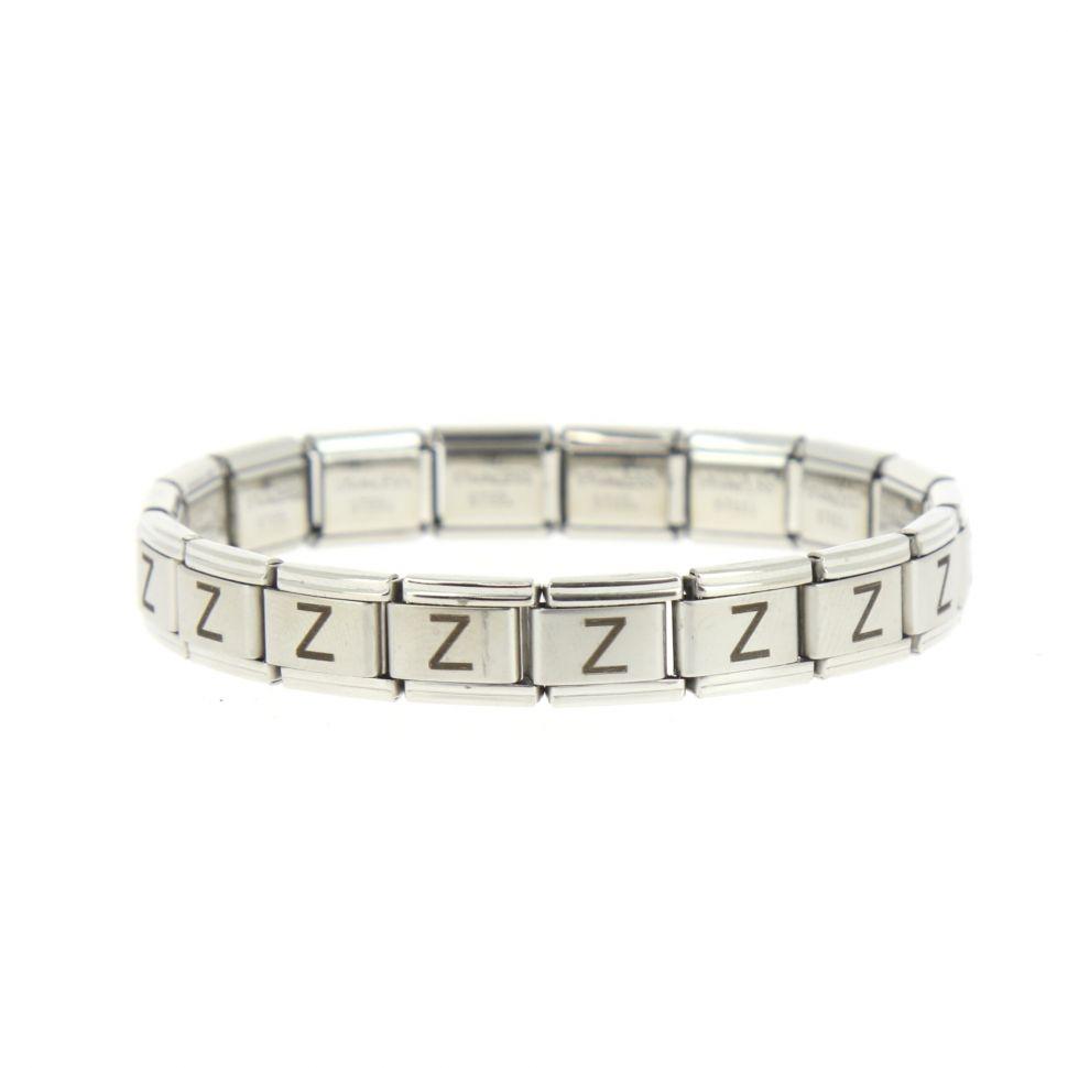 5369 stainless steel bracelet laser engraved