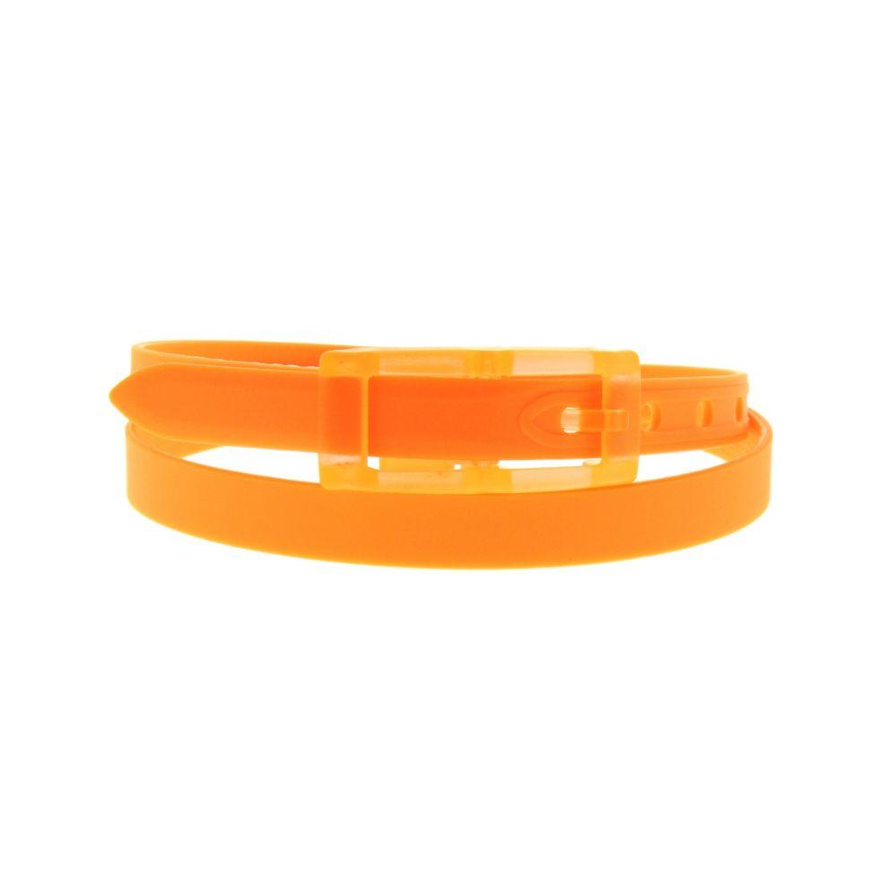 Ceinture silicone 2 cm adjustable Orange - 4062-35950