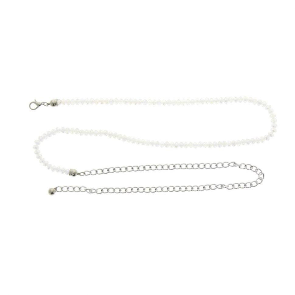Ceinture chaines strass cristal MELINE Transparent - 9508-36056