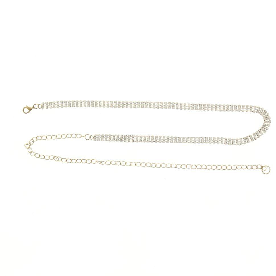 strass chains belt, XELINA