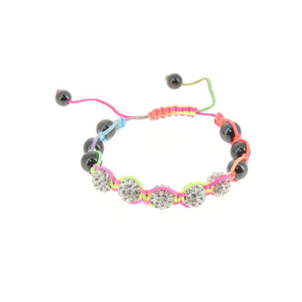 Bracelet Shamballa 5, AOH-32 Multicouleur - 3192-36169