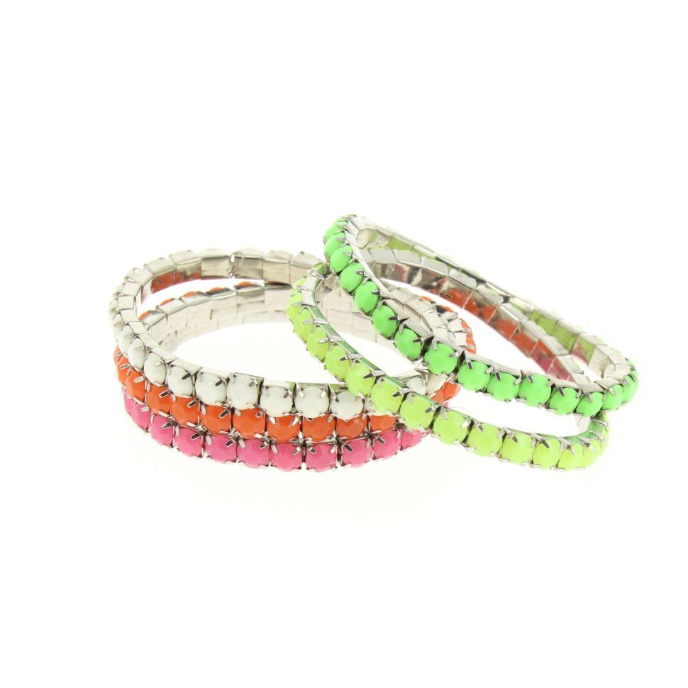 Bracelet extensible Strass XL SWANNY Multicouleur - 4052-36200
