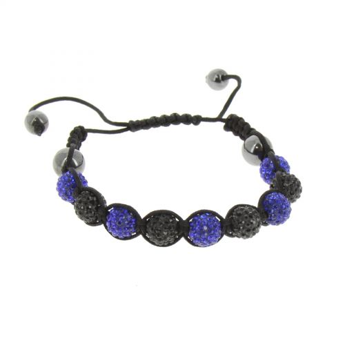 9 beads shamballa bracelet, MALLORY