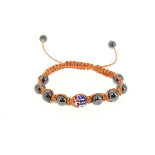 Bracelet shamballa Drapeau Americain, KARA