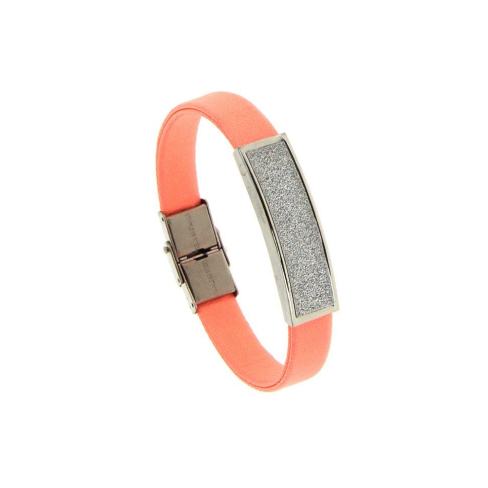 Bracelet similicuir ALAIA Orange - 7894-36346