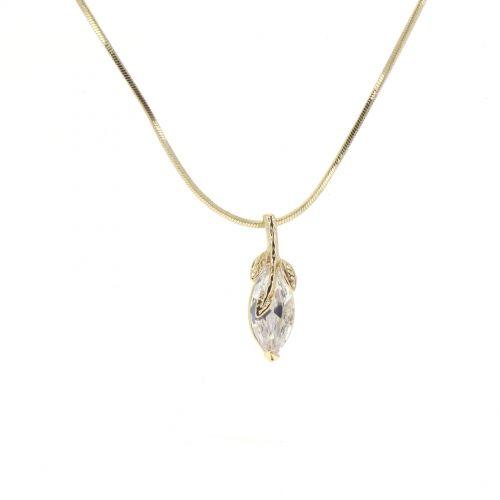 collana pendente di cristallo FELICIE