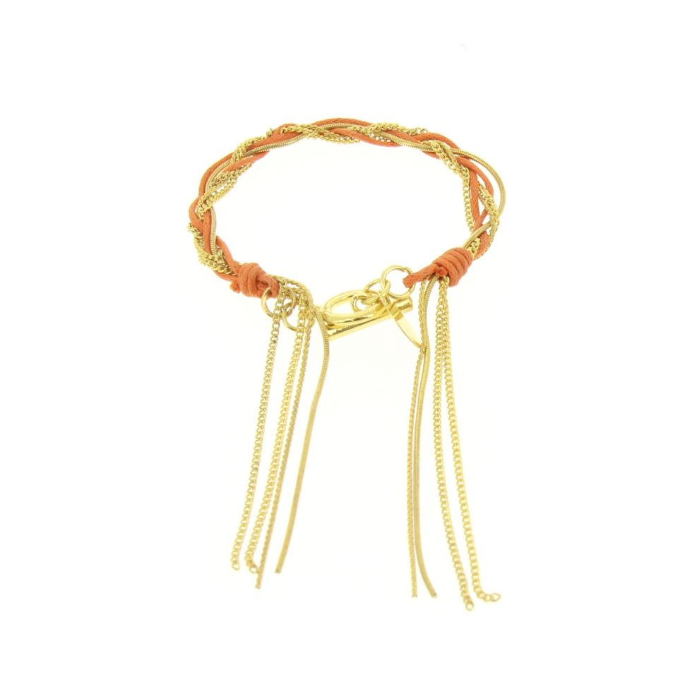 Bracelet Tressé RON-01 Orange - 1553-36588