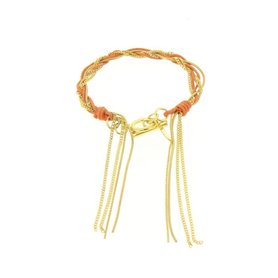 Bracelet Tressé RON-01 Orange - 1553-36588