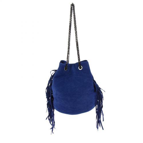 SAC à chaine CHARLEINE Bleu cyan - 10176-36762
