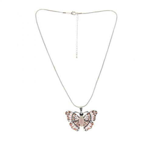 Collier fantaisie Papillon RUBY