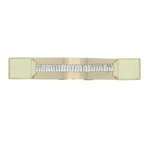 Elastic belt with rhinestone headbands
