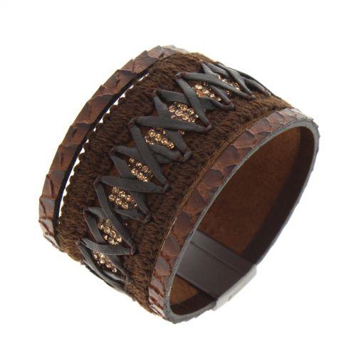 Braided cuff Bracelet LELIE