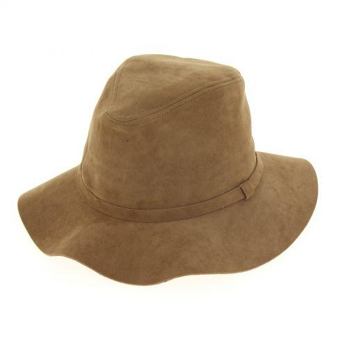 Chapeau mou feutre LAURICIA Camel - 10220-37467