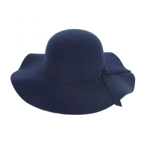Grand capeline AVA Bleu Foncé - 10221-37475