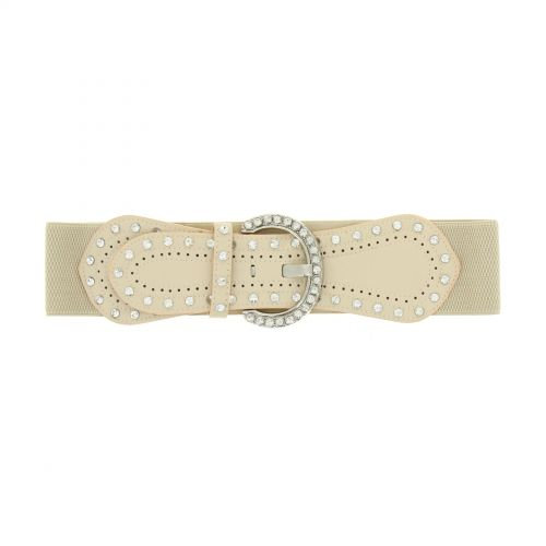 Strass elastic wide belt, BARISA
