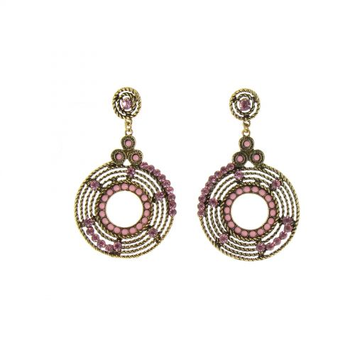 Orecchini Q-17623, perla etnica, TERRI