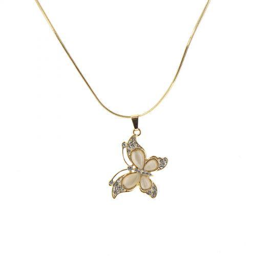 ENOLLA Crystal pendant necklace