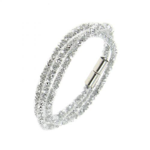 Slim multi-rows wrap bracelet Sila