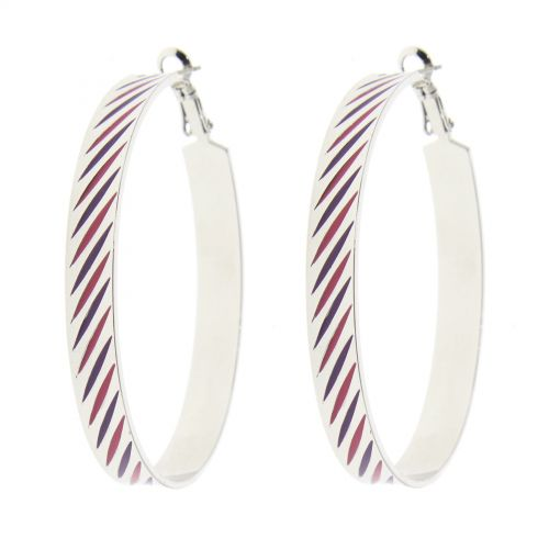 Boucles d'oreilles R10-2451B, créole