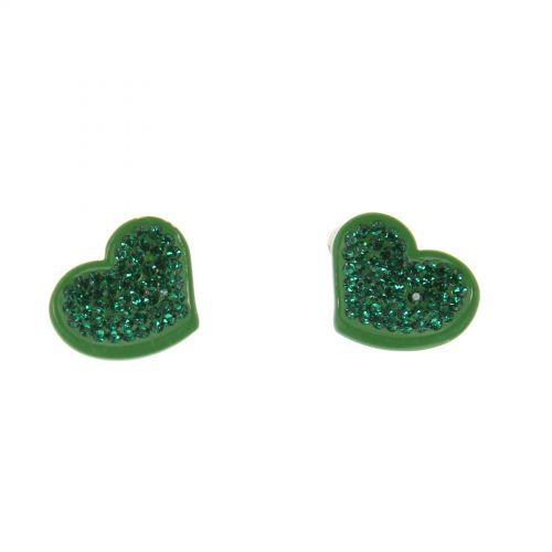 hearts metal pendants fashion earrings