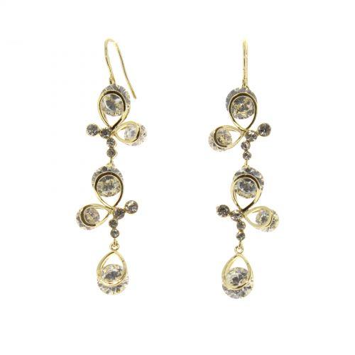 Boucles d'oreilles cristal Zirconium RIHAME