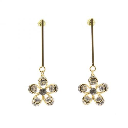 Boucles d'oreilles cristal Zirconium JAZZ