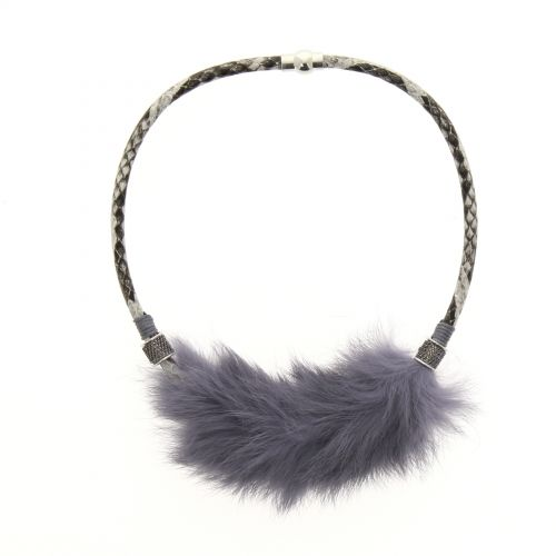SERAP fur necklace