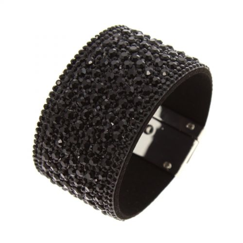Bracelet manchette strass PRUDENTIUS