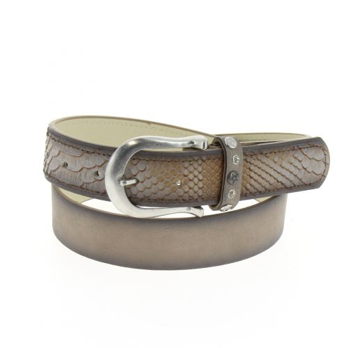 Sebastian leatherette belt