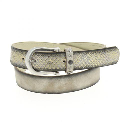 Sebastian leatherette belt