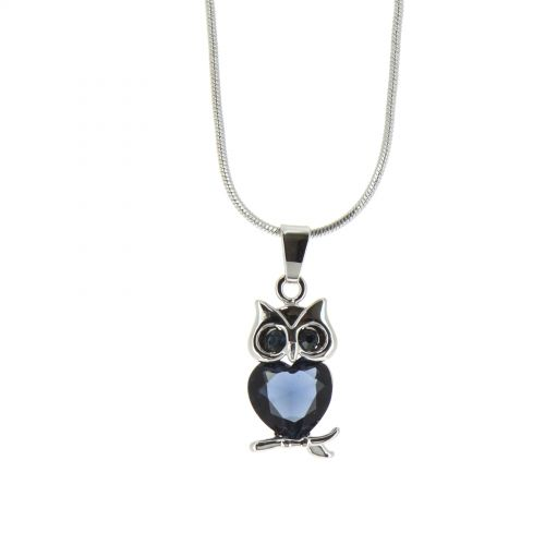 LILLY owl necklace